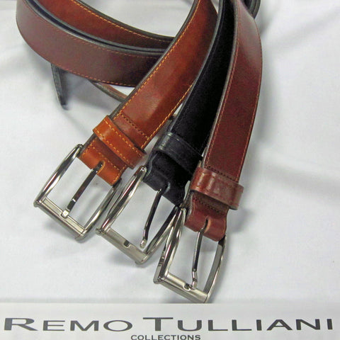 Leather Belt - Remo Tulliani Collection