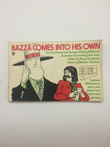 'Bazza Comes Into His Own'- Barry Humphries on Barry Mckenzie