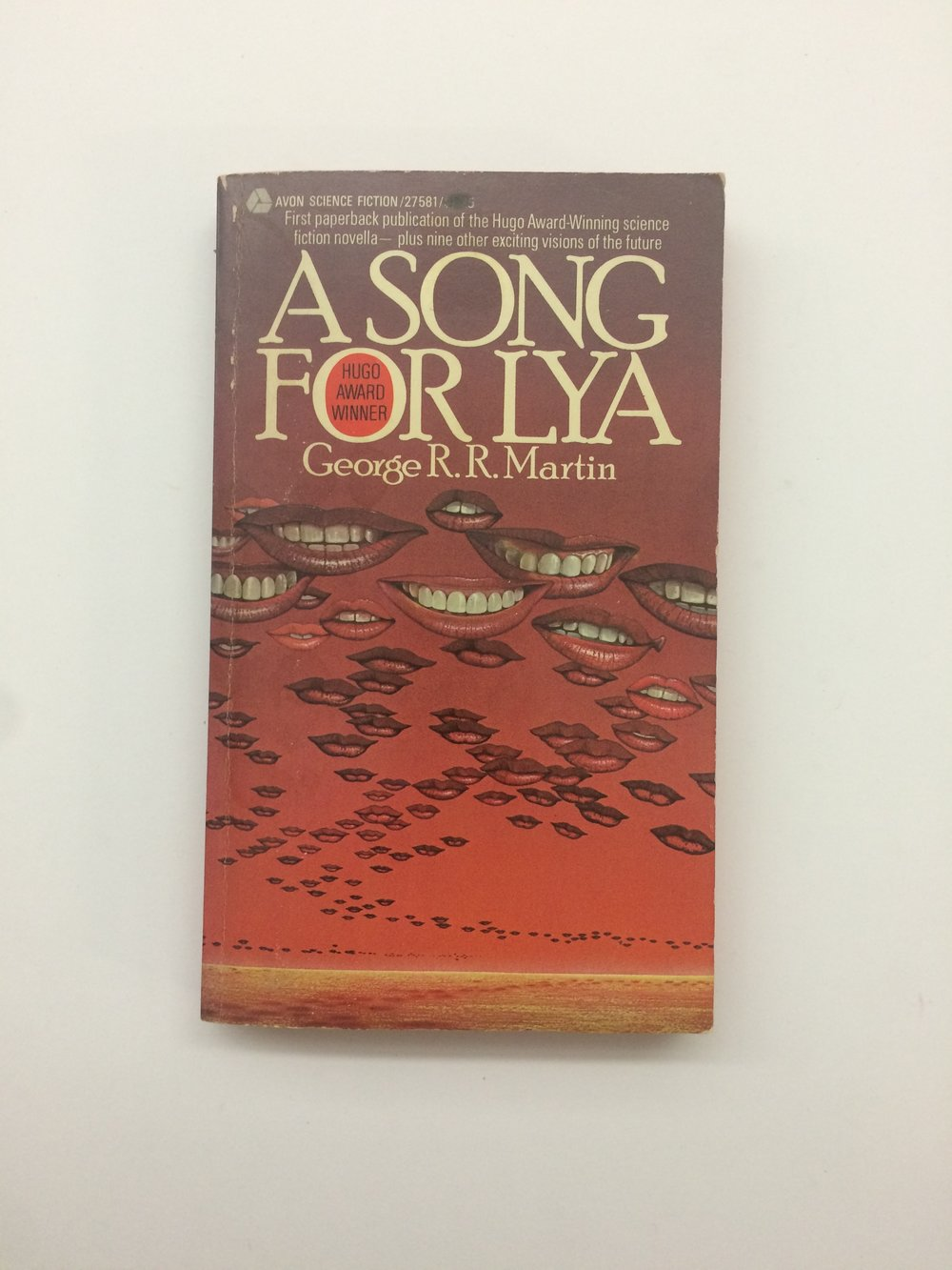 'A Song For Lya' by George R.R.Martin- 1st edition 1976