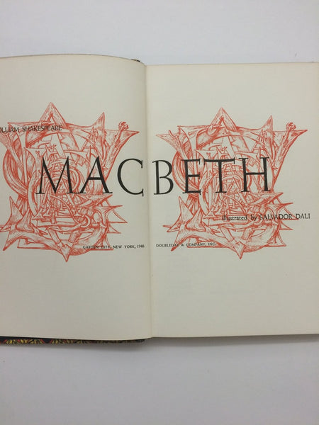 'Macbeth' - Shakespeare 1946, Illustrated by Salvador Dali