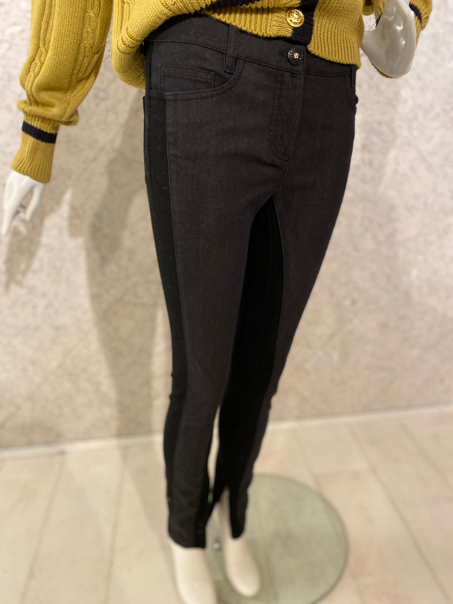 Versace - Designer - Black Stretch Jeans
