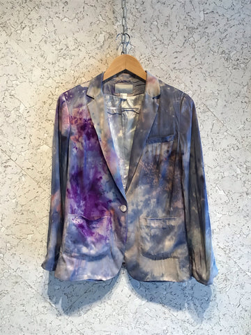 Galactic satin jacket