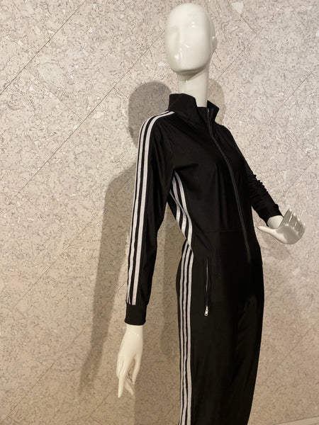 Adidas-inspired Lycra Jumpsuit