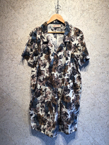MARNI Designer Floral Dress