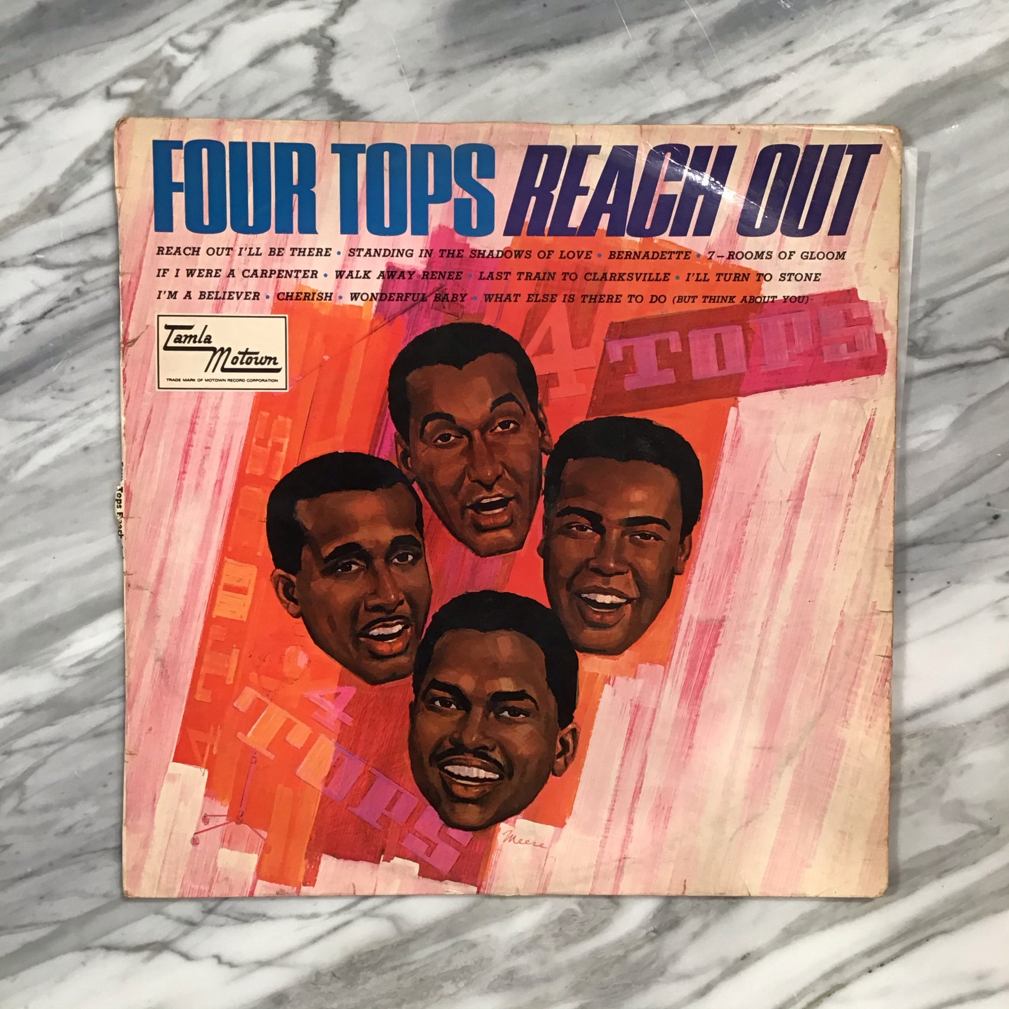 "THE FOUR TOPS "" Reach out"""