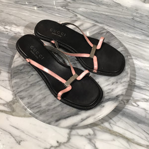 GUCCI pink sandals - Size 6