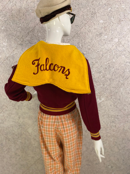 Vintage 1950s Falcons Bomber Jacket