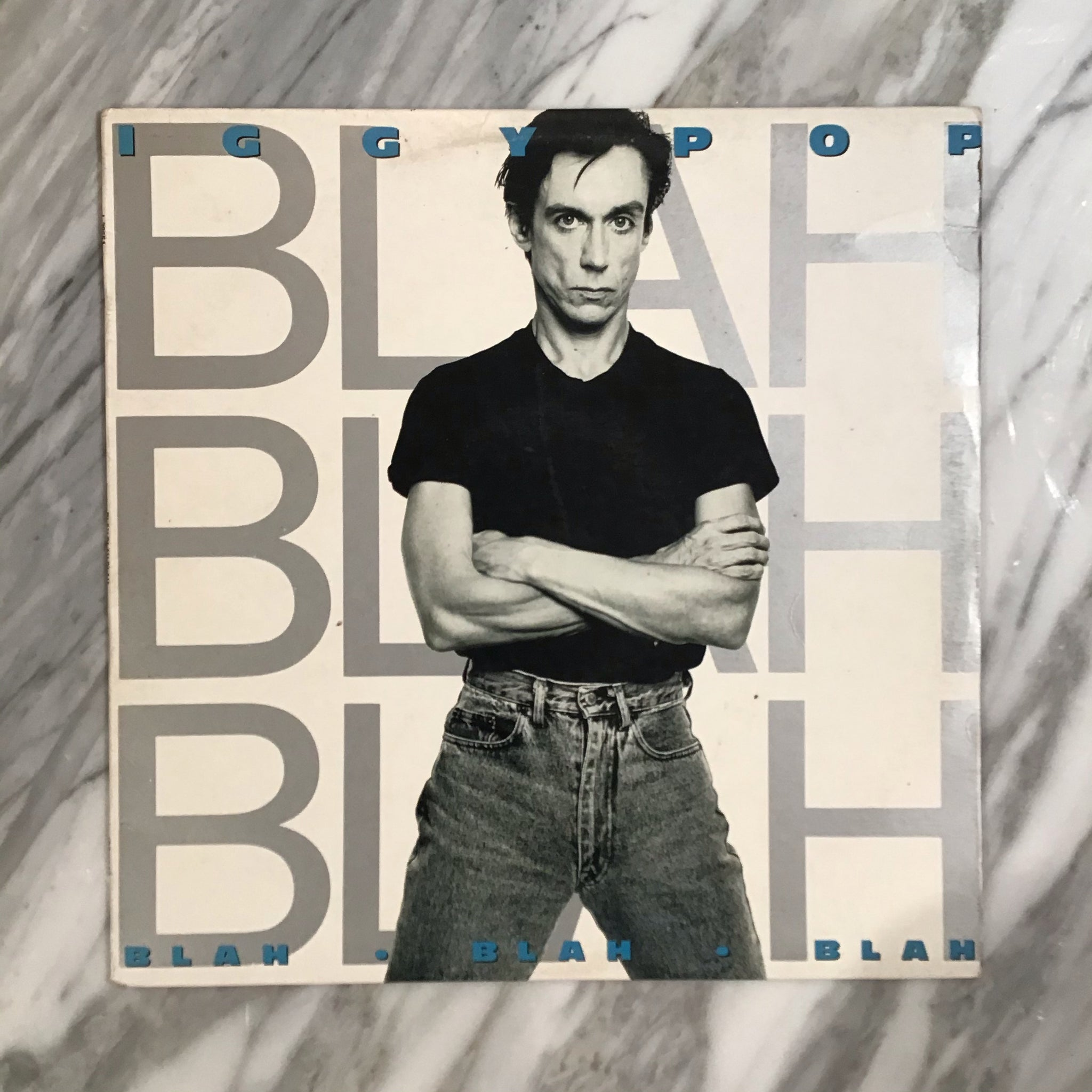 "Iggy Pop ""Blah Blah Blah"" (AUS Pressing, 1986)"