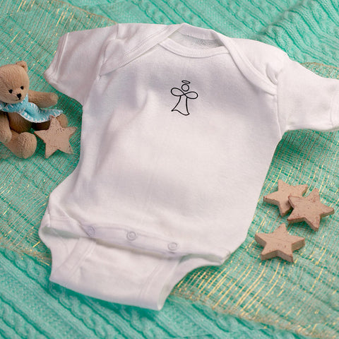 The Infinity Angel Baby Onesie