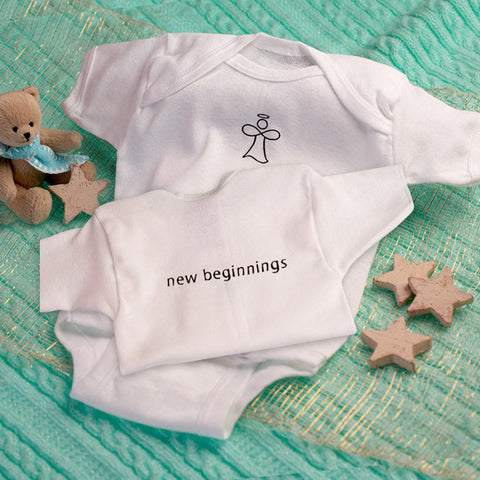 The Infinity Angel Baby Onesie Special Sale