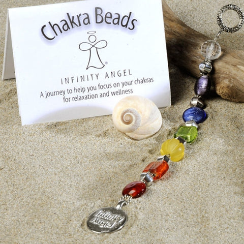 The Infinity Angel Chakra Beads