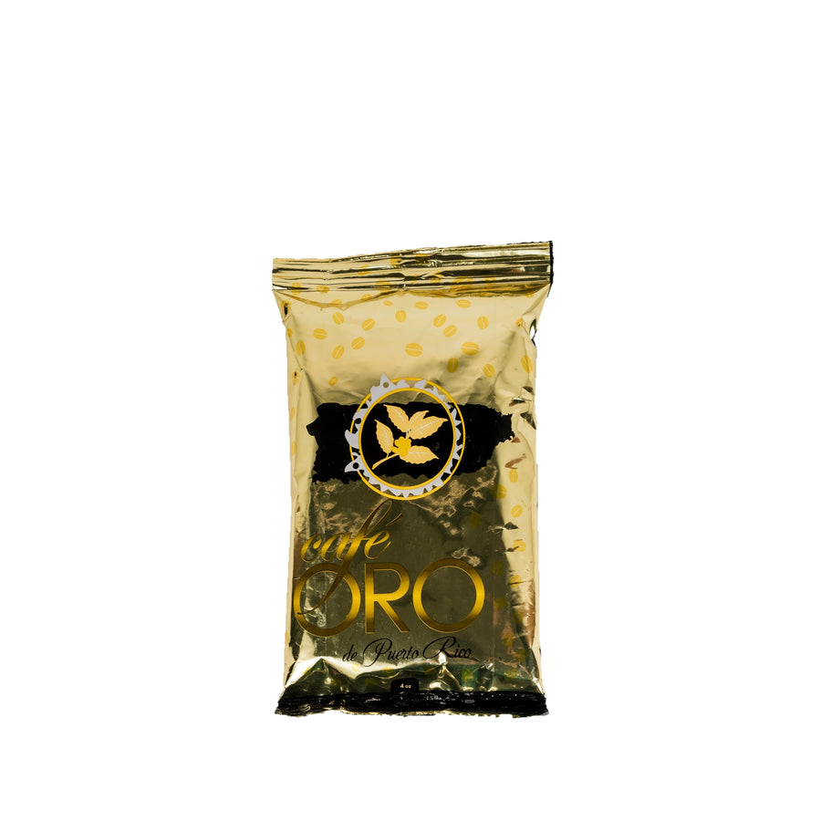 Cafe Oro molido 4 oz regular