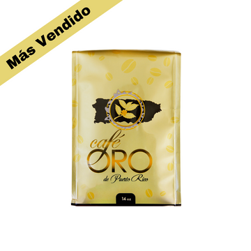 Cafe Oro Molido 14 oz