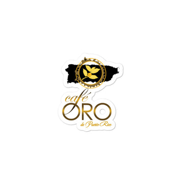 Café Oro Sticker