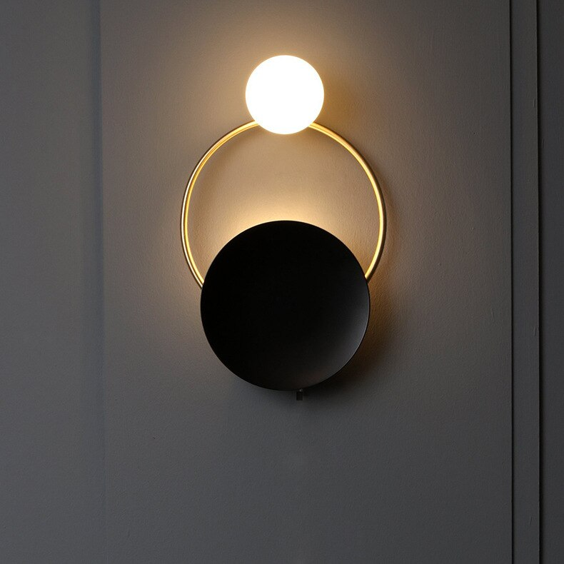 Modern Nordic Art Deco Wall Lamp