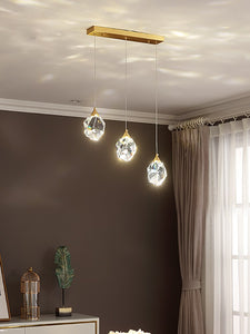Modern Crystal Pendant Light