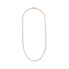 14K Gold & Diamond Tennis Necklace
