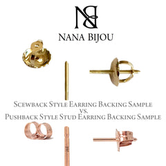 14K Gold Arrow Stud Earrings ~ In Stock!