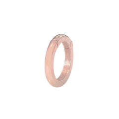 14K Gold Round Charm Enhancer