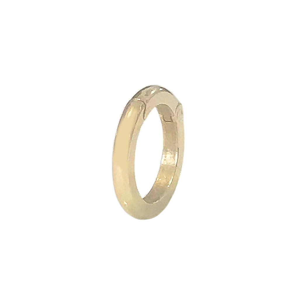 14K Gold Round Charm Enhancer ~ In Stock!