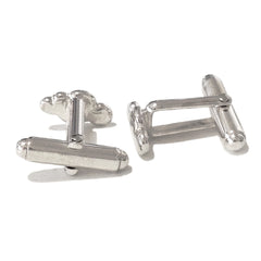 Sterling Silver Cumulus Cloud Cufflinks