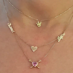 14K Gold 'I Love You' Hand Sign Charm Pendant Necklace ~ In Stock!
