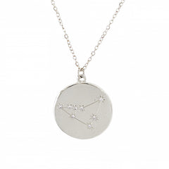 Zodiac Constellation Collection: Capricorn 14K Gold & Diamond Pendant Necklace