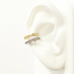 Spike Collection: 14K Gold Spike Point Ear Cuff