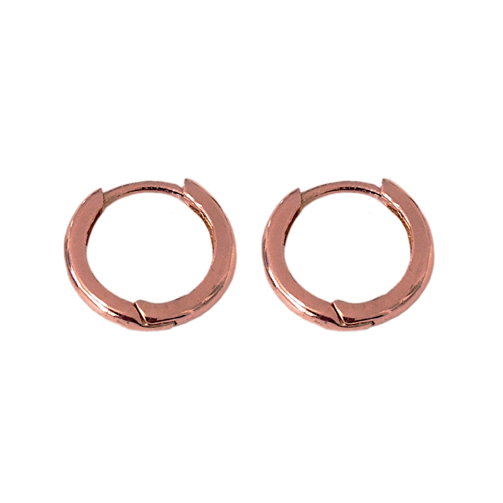 14K Gold Small Size (9mm) Huggie Hoop Earrings ~ In Stock!