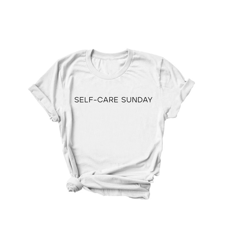 Self-Care Sunday | Unisex Relaxed Fit Tee