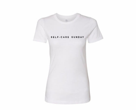 x Self-Care Sunday |  Women's Fitted Tee