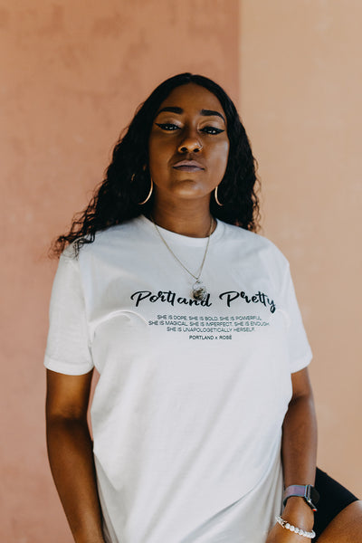 Portland Pretty | Unisex Relaxed Fit Tee
