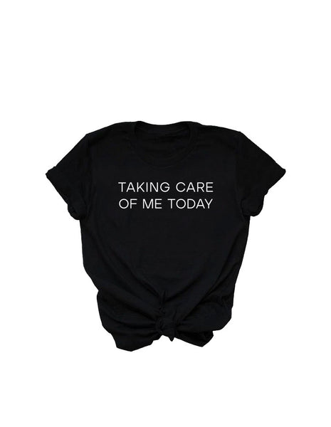 Taking Care of Me Today | Unisex Relaxed Fit Tee