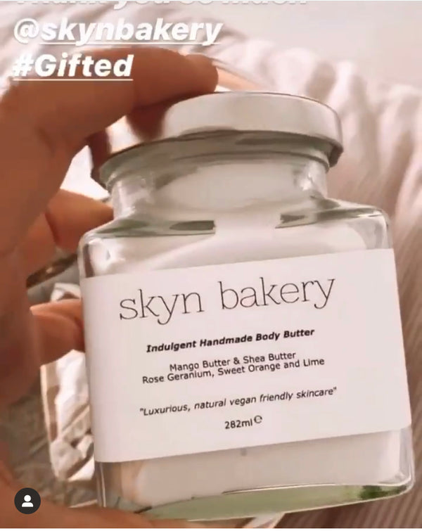 Charlotte Crosby is a fan of Skyn Bakery