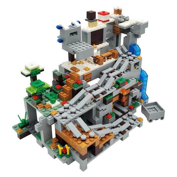 The Mountain Cave Mine Building Blocks Toys