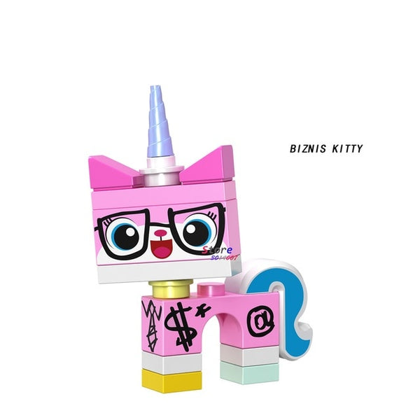Single Unikitty Characters Building Blocks