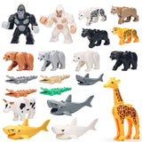 Animals Series  Model Building Blocks Kids