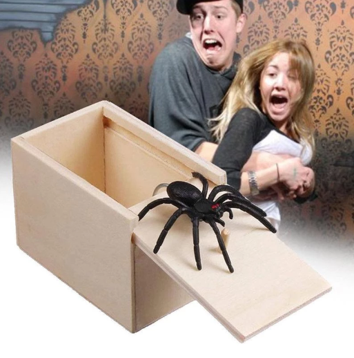 Spider box prank