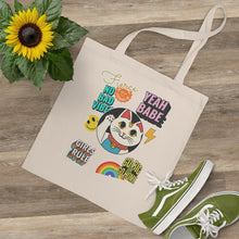 Load image into Gallery viewer, Luck Cat Tote Bag