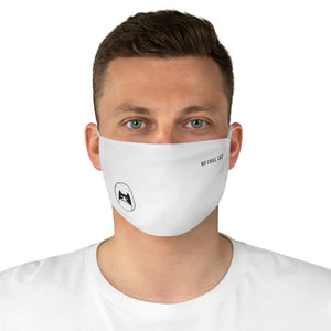 No Chill Cat Fabric Face Mask - nochillcat