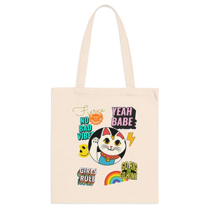 Luck Cat Tote Bag