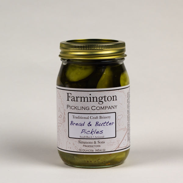 Farmington Pickling Co. Bread & Butter Pickles