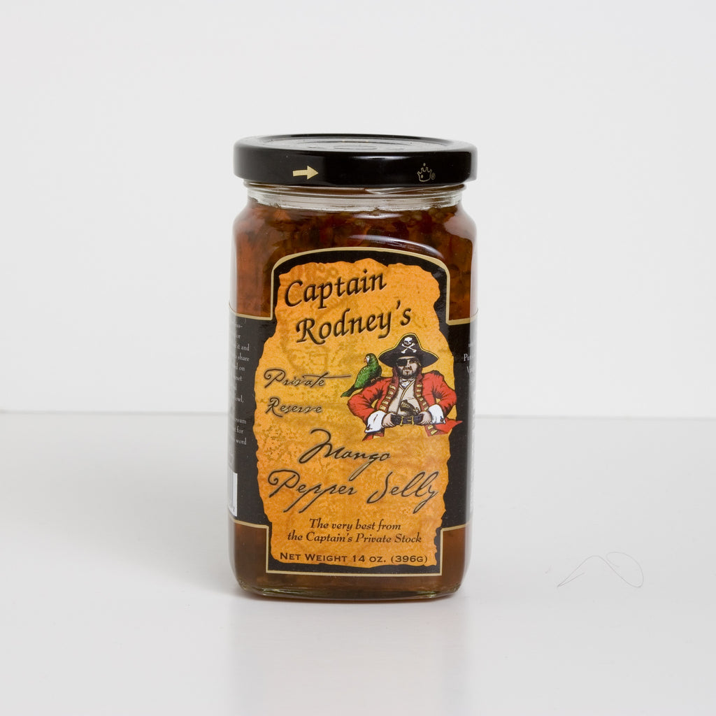 Captain Rodney's Private Reserve - Mango Pepper Jelly