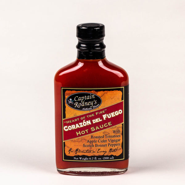 Captain Rodney's Private Reserve - Corazon del Fuego Hot Sauce