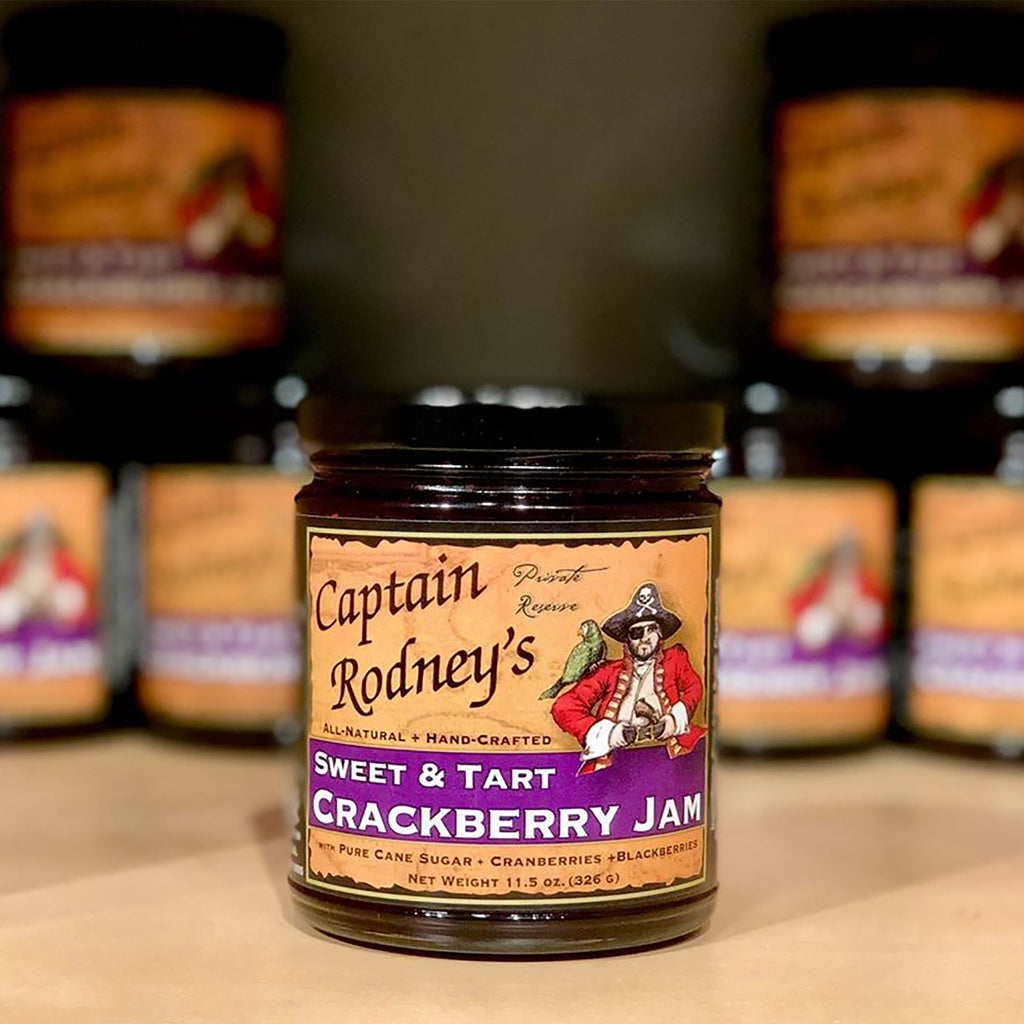 Captain Rodney's Private Reserve - Crackberry Jam