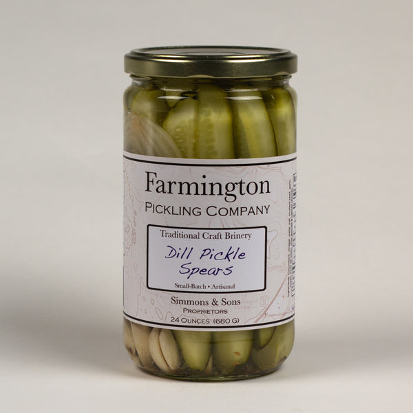 Farmington Pickling Co. Dill Pickle Spears