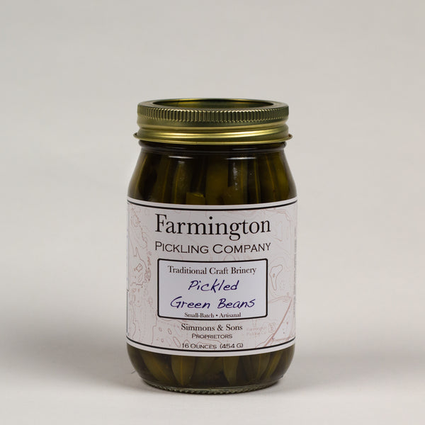 Farmington Pickling Co. Pickled Green Beans