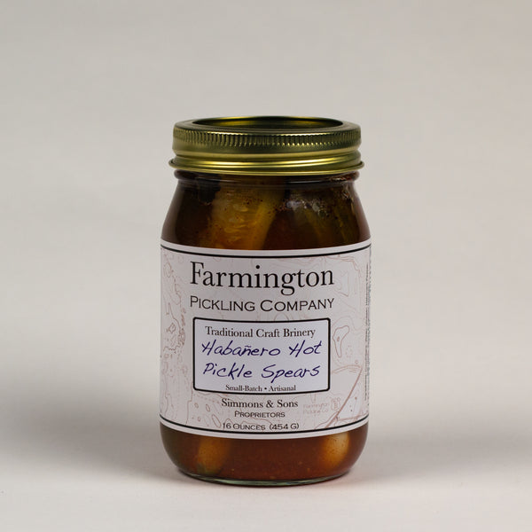 Farmington Pickling Co. Habañero Pickle Spears