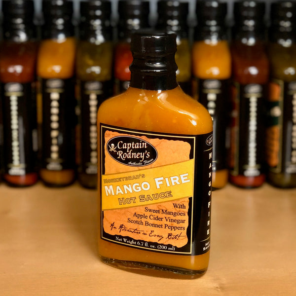 Captain Rodney's Private Reserve - Mango Fire Hot Sauce