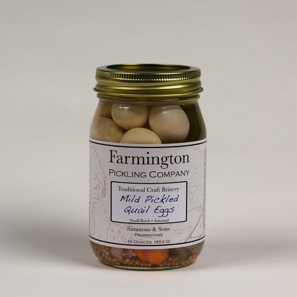 Farmington Pickling Co. Mild Quail Eggs